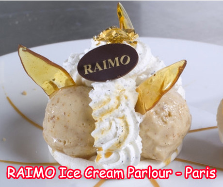 Raimo Ice Cream Parlor in Paris