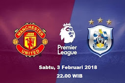 Live Streaming Manchester United vs Huddersfield 3 Januari 2018