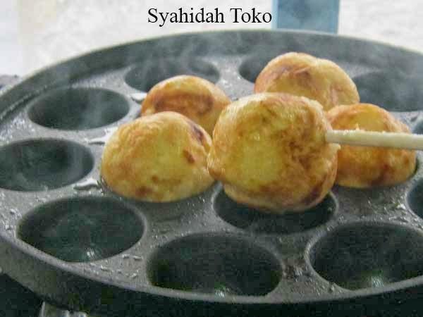 Resep Kue Jepang Takoyaki: Jual Cetakan Kue Takoyaki