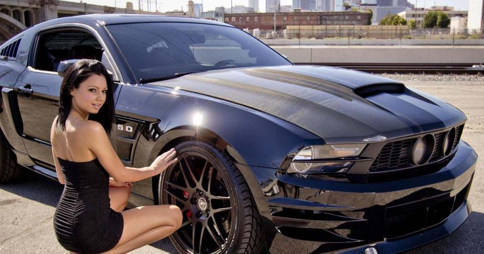 Automobile Trendz Mustang Babe