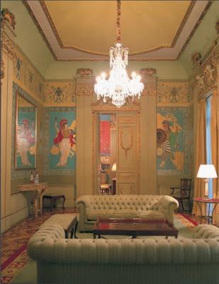 Salón de los Continentes. Palacio de Zurbano