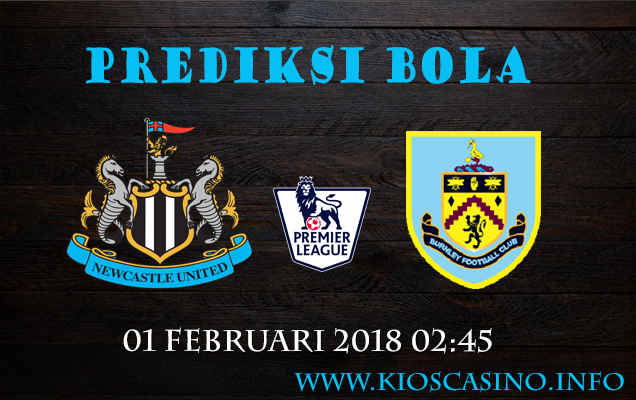 Prediksi Bola  Newcastle vs Burnley  01 Februari 2018