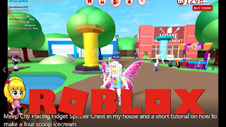 Roblox Meep City Gameplay Fidget Spinner Chest In My House Short