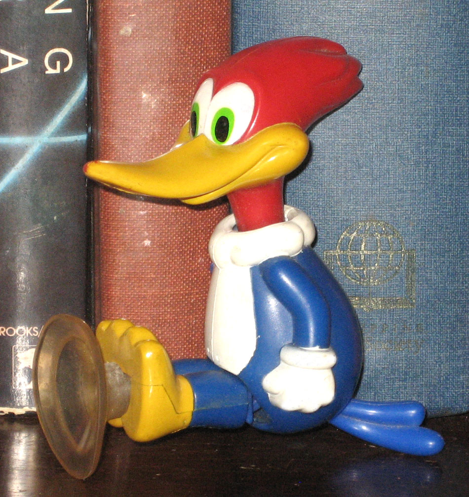 Percy's Fast Food Toy Stories: Woody Woodpecker BK