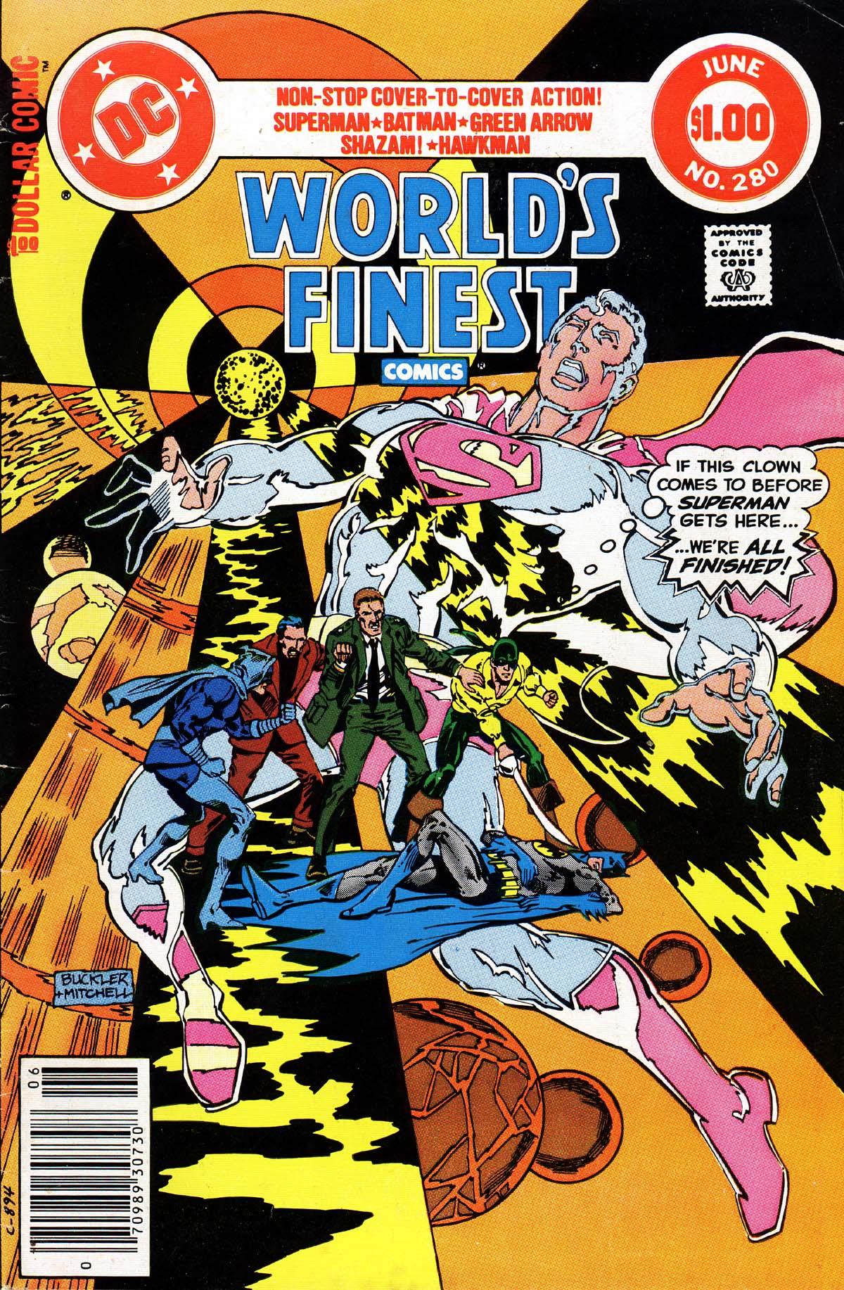 Read online World's Finest Comics comic -  Issue #280 - 1