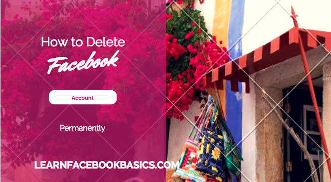 how to delete facebook account dailymotion