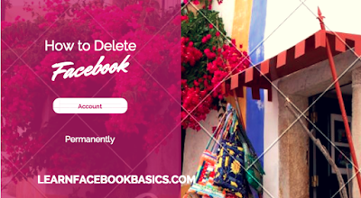 Method to deactivate and delete Facebook account