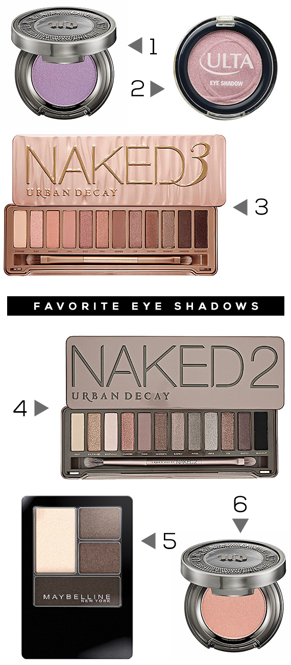Our Favorite Eyeshadows (+ 3 Money Saving Eye Makeup Tips!) // Bubby and Bean