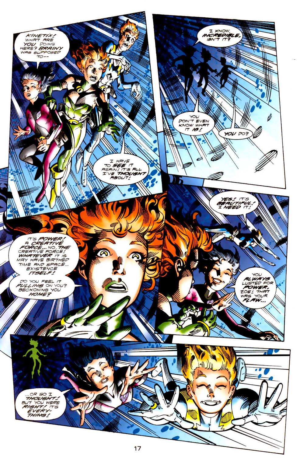 Legion of Super-Heroes (1989) 113 Page 16