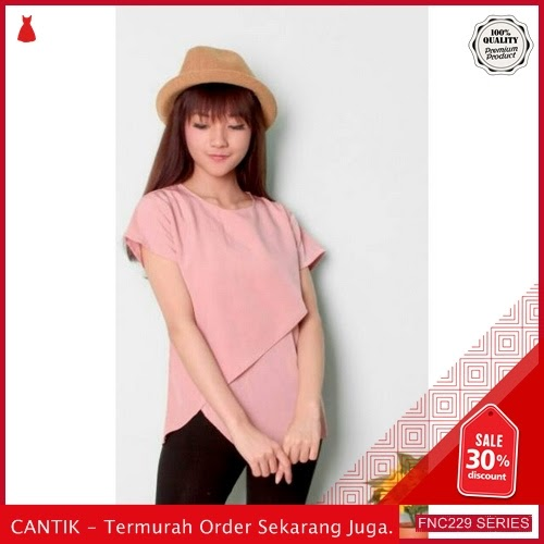 FNC229O19 On Sasa Top Twiscone Wanita BMGShop L Serba 50 Ribuan