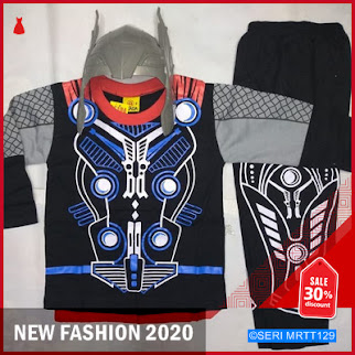 MRTT129T87 TANPA PALU Baju Topeng Anak Thor BMGShop