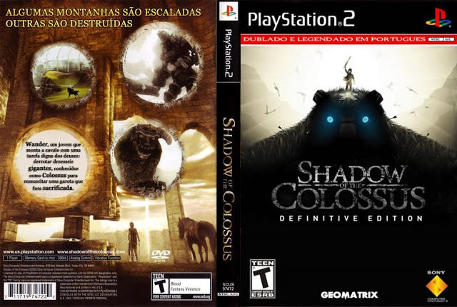 THE SHADOW BAIXAR PORTUGUES COLOSSUS OF PS2