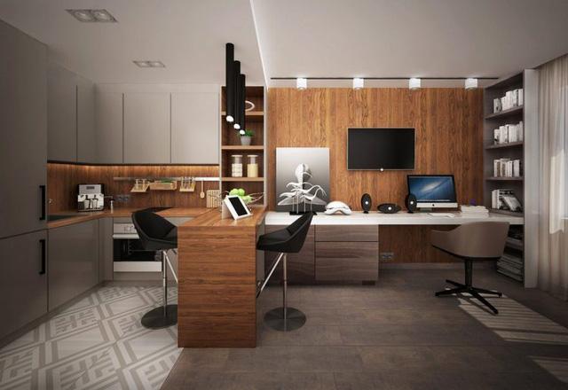 Không gian bàn làm việc