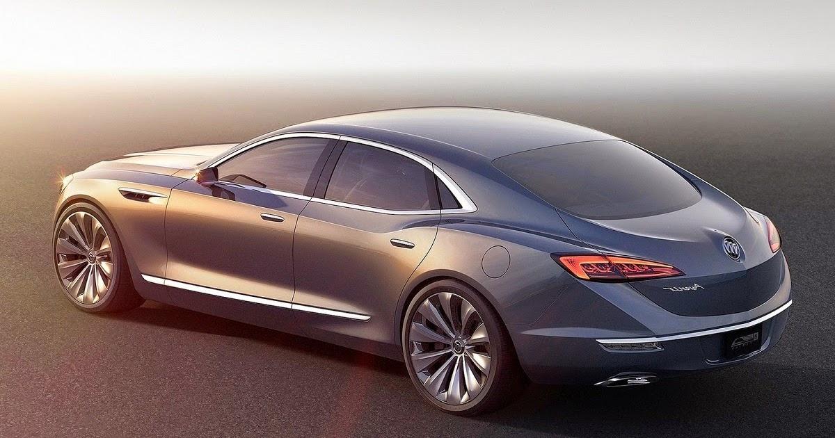 2015 Buick Avenir Concept Luxury Flagship Sedan Car Reviews New