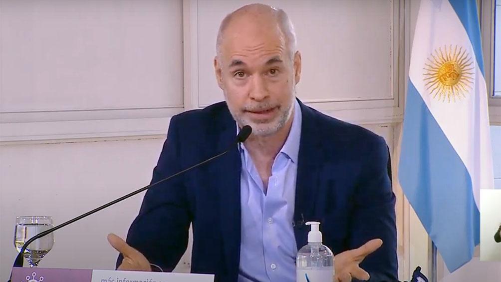Rodríguez Larreta dijo que el transporte público seguirá siendo sólo para trabajadores esenciales