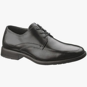 Hush Puppies Infrared lace up dress shoes has perforated linings and insoles provide breathability for an odor-free wear.