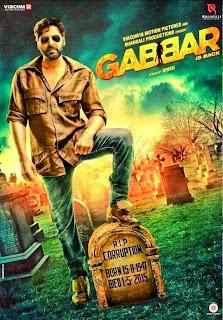 Gabbar is Back, Directed by Krish, Movie Poster, starring Akshay Kumar, Shruti Hassan