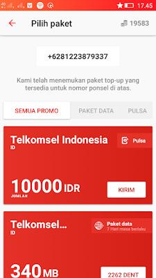 Pulsa Gratis Telkomsel Terbaru dari Aplikasi Dent Android