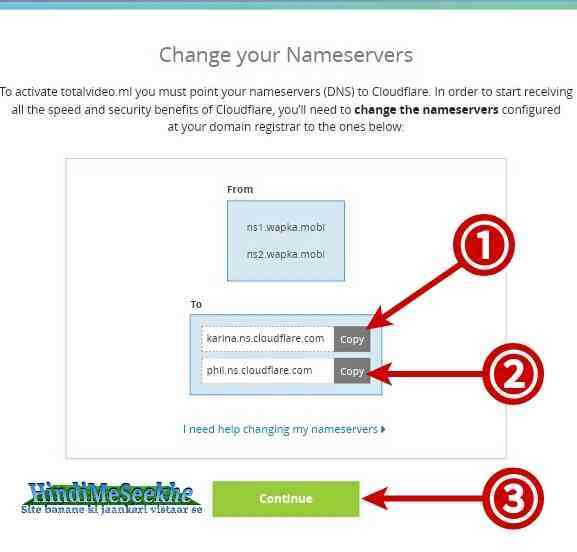 cloudflare-change-your-nameservers
