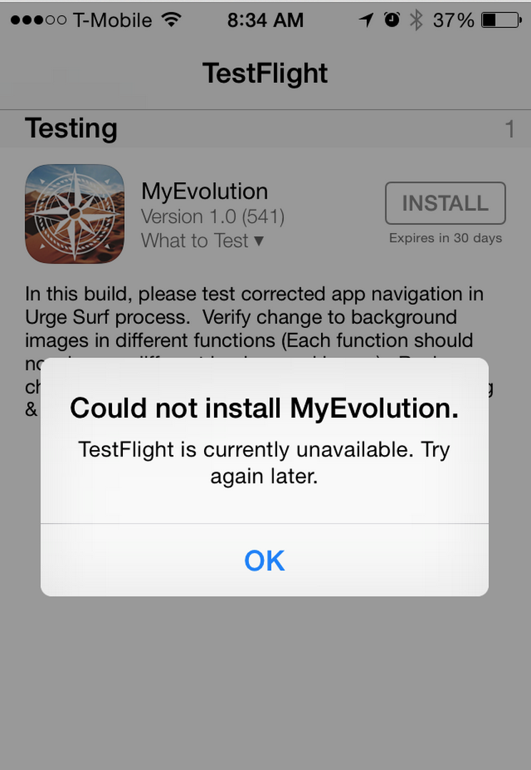 XCode Crash During Upload Causes Issue With TestFlight