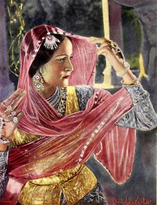 Indurani in 1940 film Hatimtai ki beti