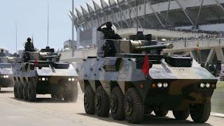 Tanks de l'armée de la Tanzanie