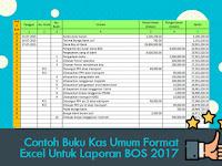 Contoh Buku Kas Umum Format Excel Untuk Laporan BOS 2017