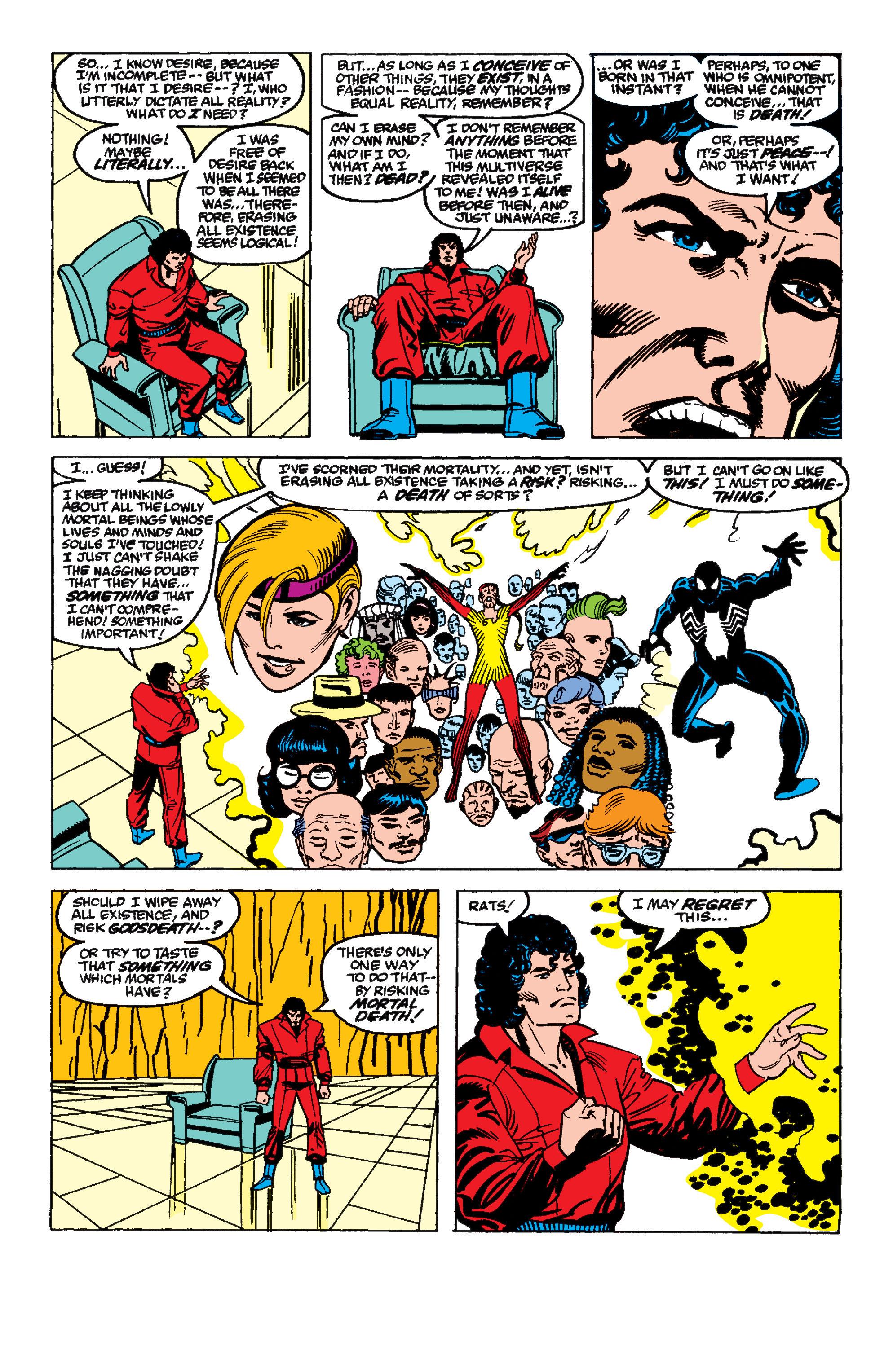 Read online Secret Wars II comic -  Issue #9 - 10