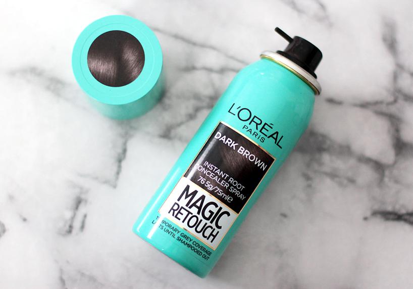 L'Oreal Paris Magic Retouch Spray review blog beauty