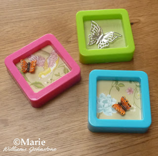 spring season mini picture frames