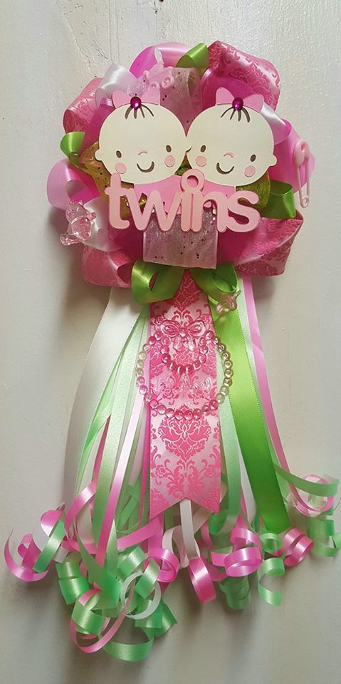 Baby Doll With Toys Adriana 39;s Creations Girl Theme Baby Shower Corsages