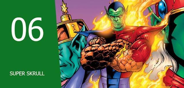 super skrull Musuh-musuh Fantastic Four,