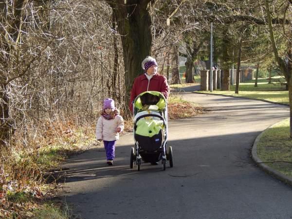 Cara menggunakan stroller dengan aman