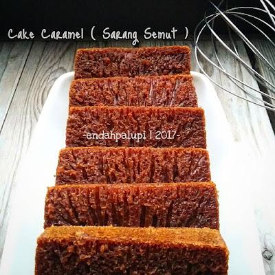 Resep Kue Sarang Semut Atau Cake Caramel By @endahpalupid