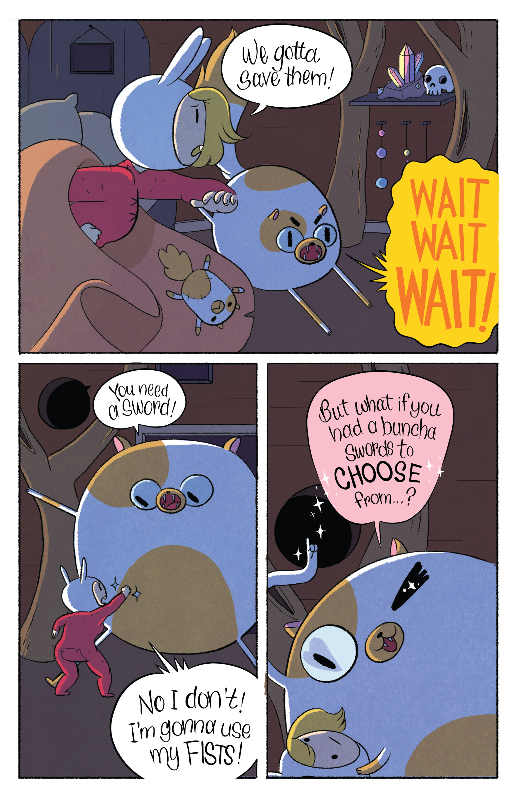 Read online Adventure Time with Fionna & Cake comic -  Issue #1 - 16