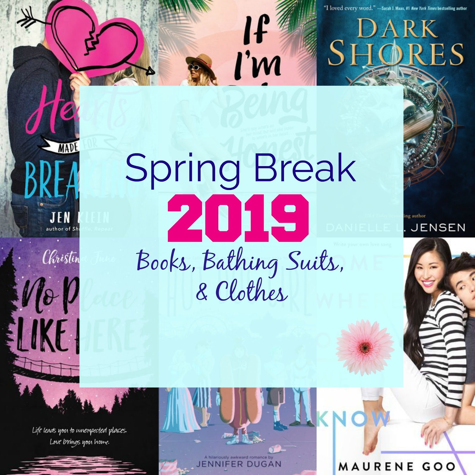 Pink Polka Dot Books: Spring Break 2019: Books, Bathing Suits, and