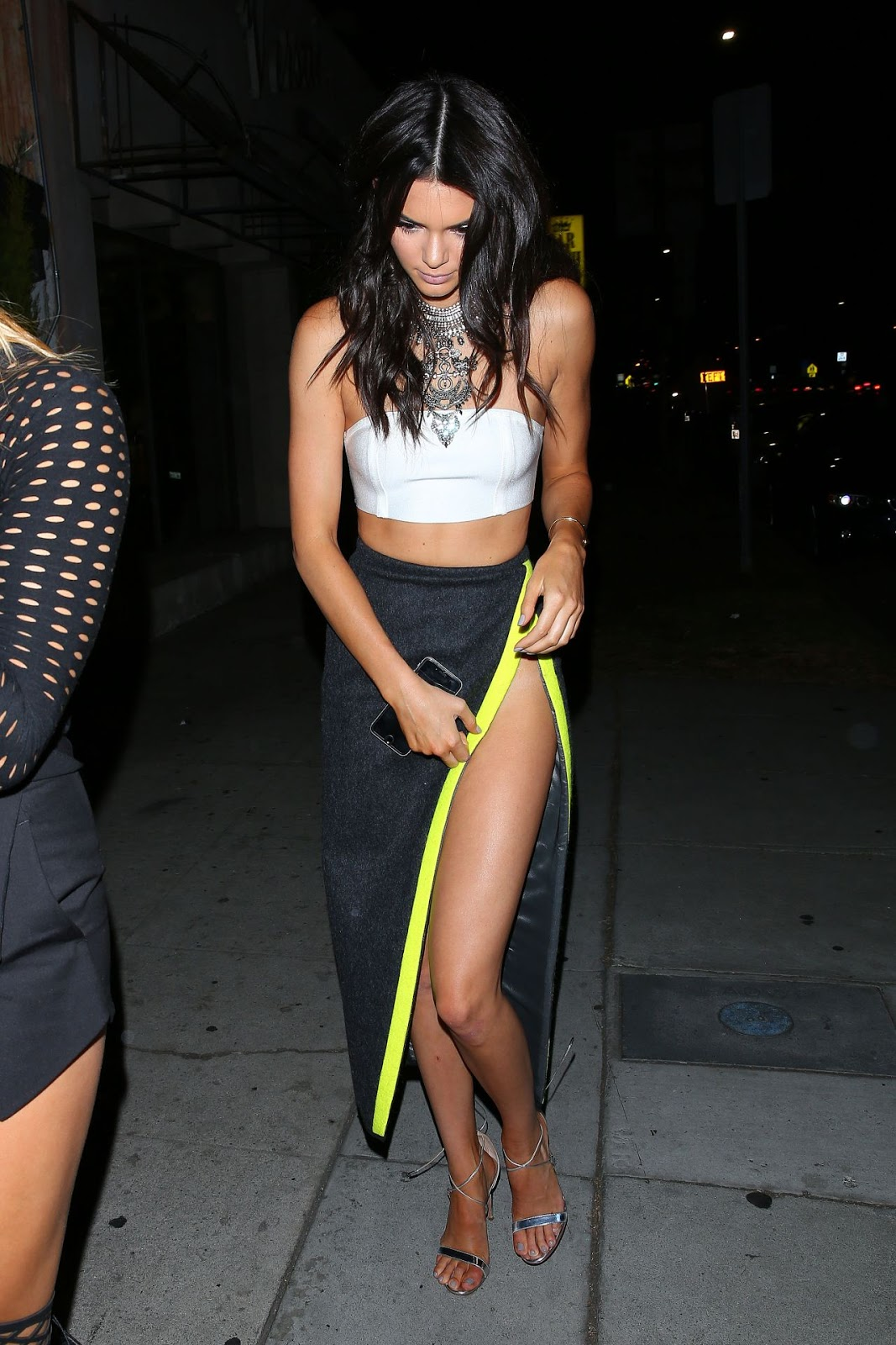 Kendall Jenner goes sans underwear at Kylie's 18th Birthday Party‏
