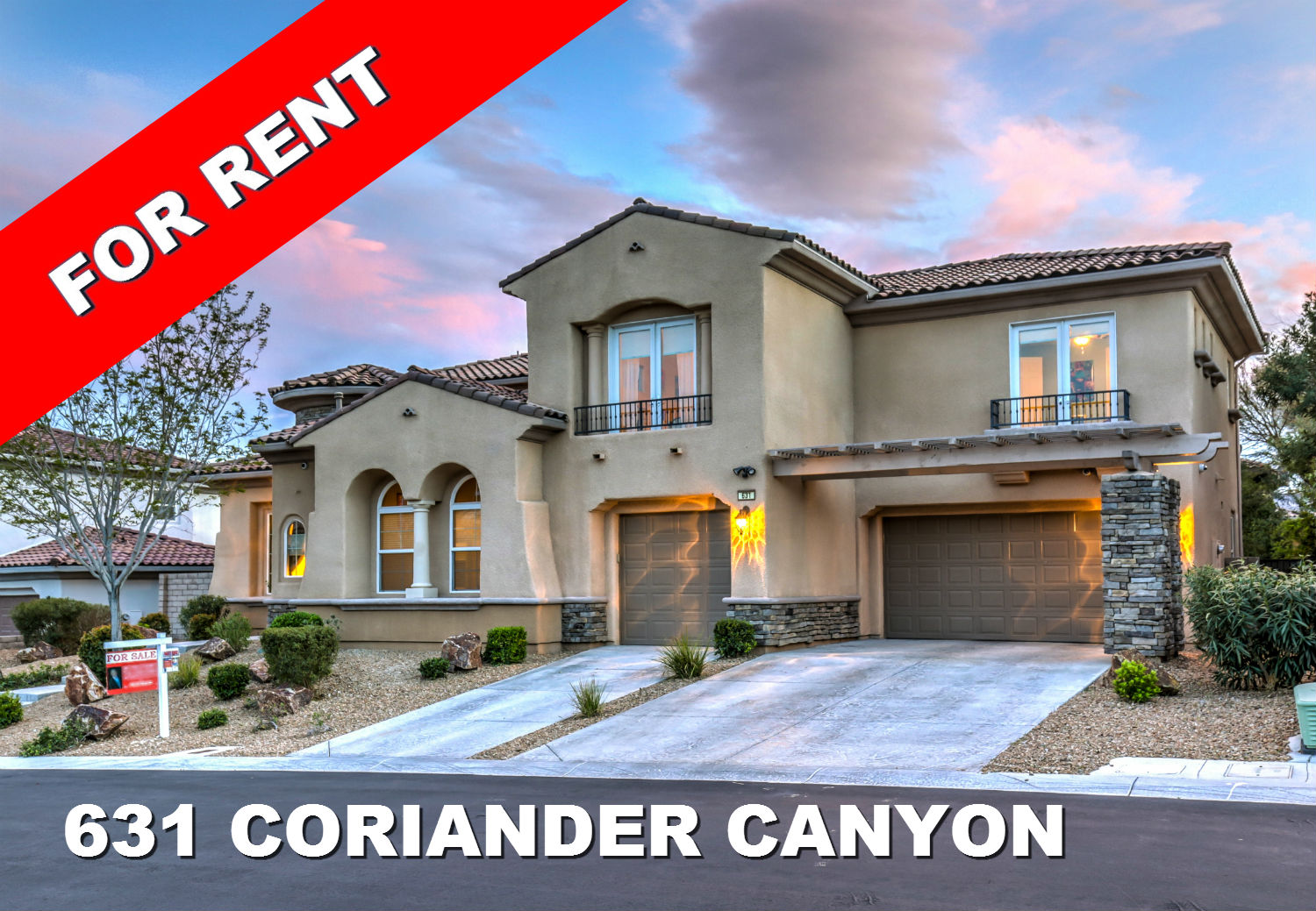 for rent 631 coriander canyon in summerlin nathan robart real estate blog robart realty group