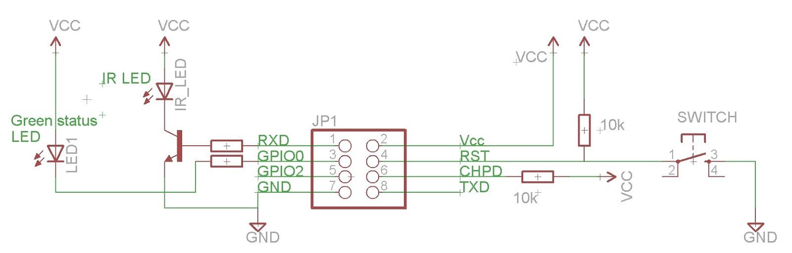 The IR-egg: Voice-controlled ESP8266 I2S IR transmission!