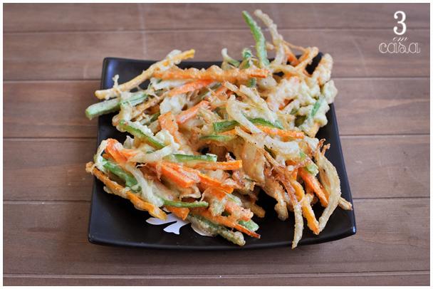 como fazer tempura
