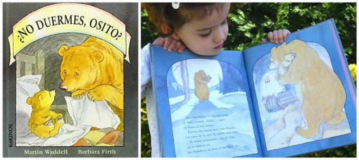 cuentos infantiles crianza respetuosa, con apego no duermes osito