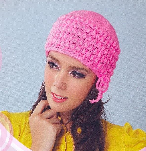 Patrón #1157: Gorro a Crochet