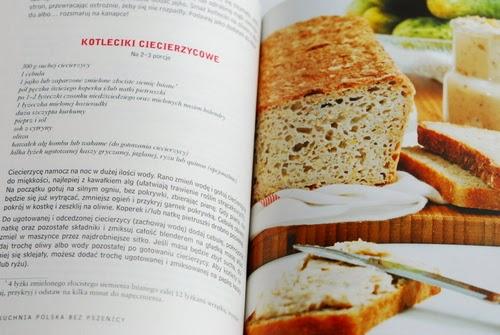 Przepis na kotlety z ciecierzycy i zdjęcie chleba lniano-ziemniaczanego