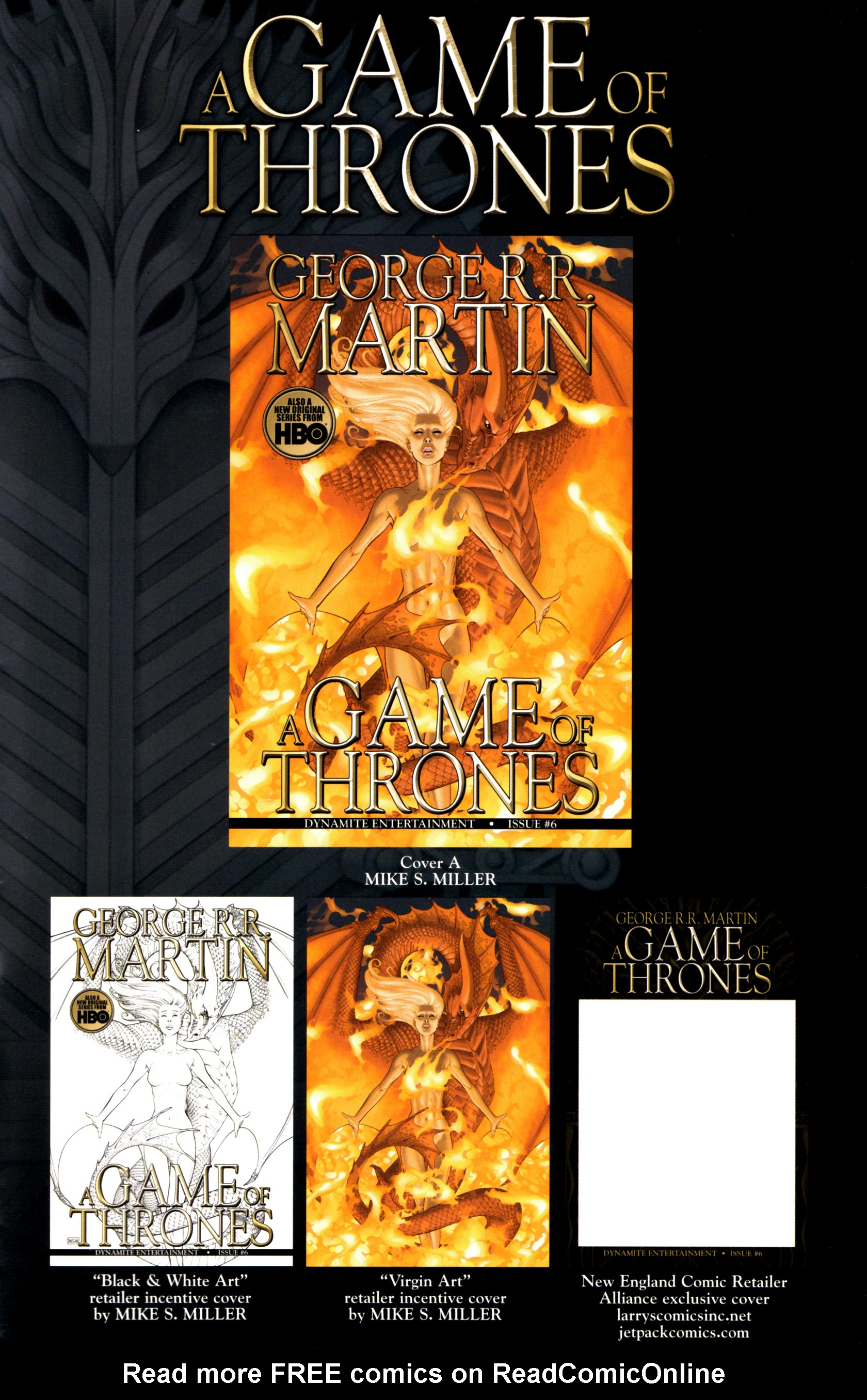 Read online A Game Of Thrones comic -  Issue #6 - 35
