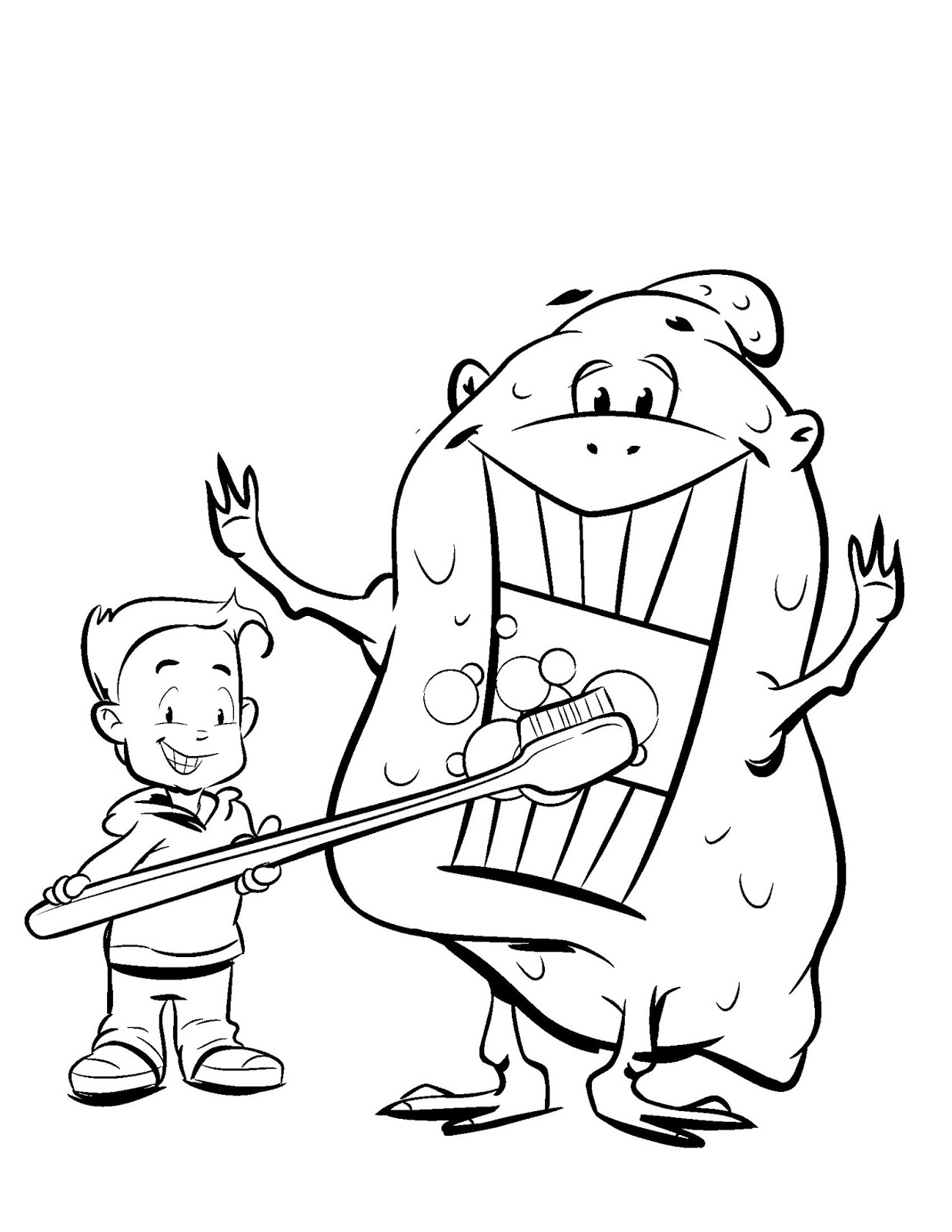 Picture for educational coloring pages health safety coloring pages