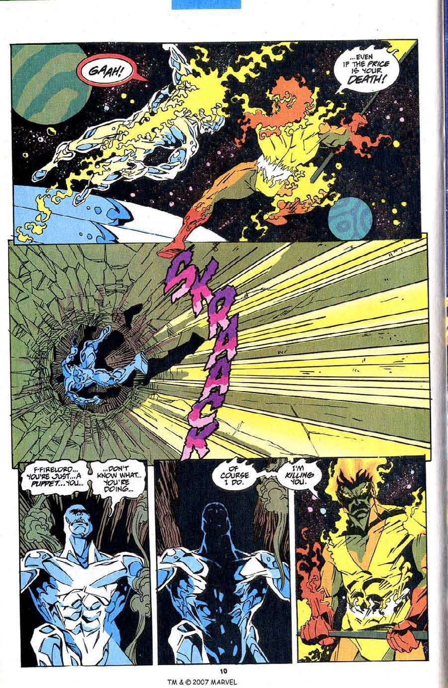 Read online Silver Surfer (1987) comic -  Issue #83 - 12