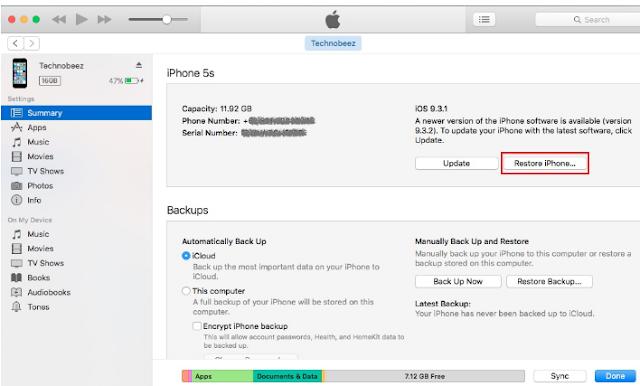 Cara Mudah,Cara Memperbaiki Tidak Ada Layanan Pada iPhone -  11