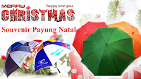 Souvenir Payung Natal