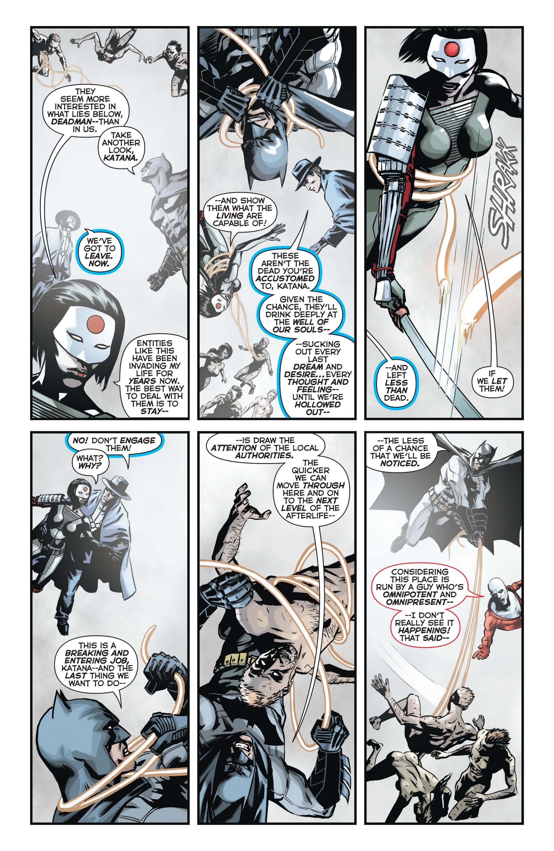 Read online Trinity of Sin: The Phantom Stranger comic -  Issue #11 - 3