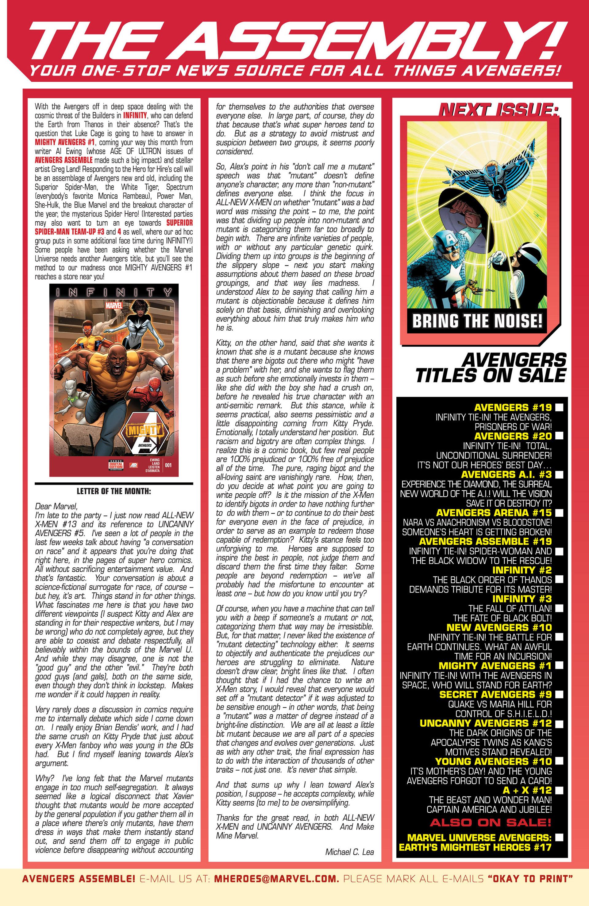 Read online Uncanny Avengers (2012) comic -  Issue #12 - 23